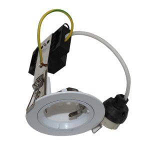 70mm Downlight Frame White GU10 - DL70WHGU10
