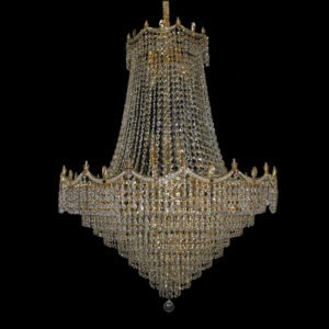 Bristol 820 Gold Chandelier - CRPBRI22820GD