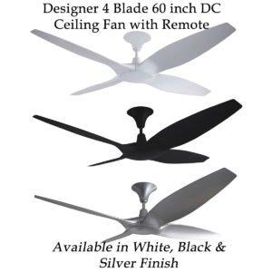 Fias Fantum Designer 60 inch DC Ceiling Fan