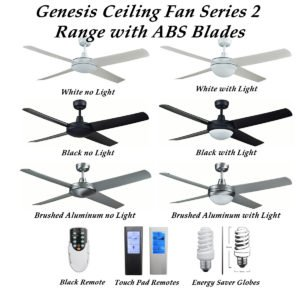 Genesis Ceiling Fan with ABS Blades