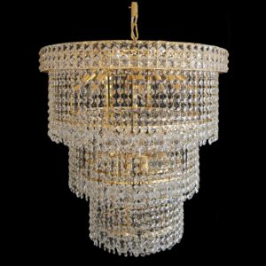 Lincoln 600 Gold Chandelier - CRPLIN14600GD