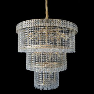 Lincoln 800 Gold Chandelier - CRPLIN24800GD