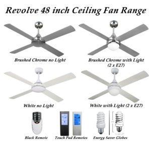Revolve Ceiling Fan