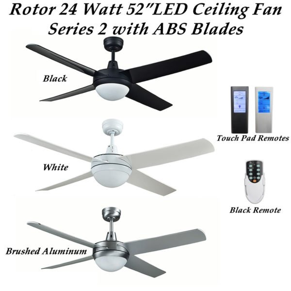 Rotor Ceiling Fan with ABS Blades