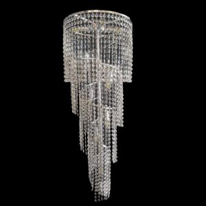 Spiral 410 Chrome Chandelier - CRPSPI10410CH