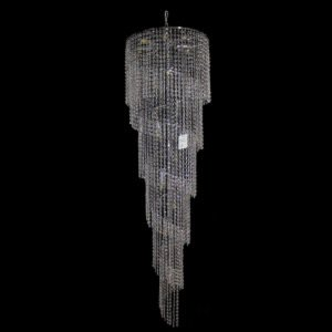 Spiral 510 Chrome Chandelier - CRPSPI17510CH