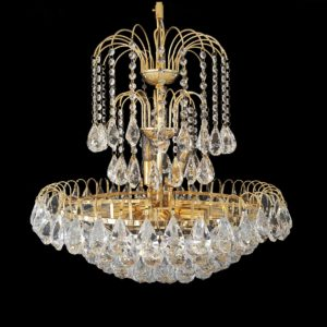 Surrey 600 Gold Chandelier - CRPSUR10600GD