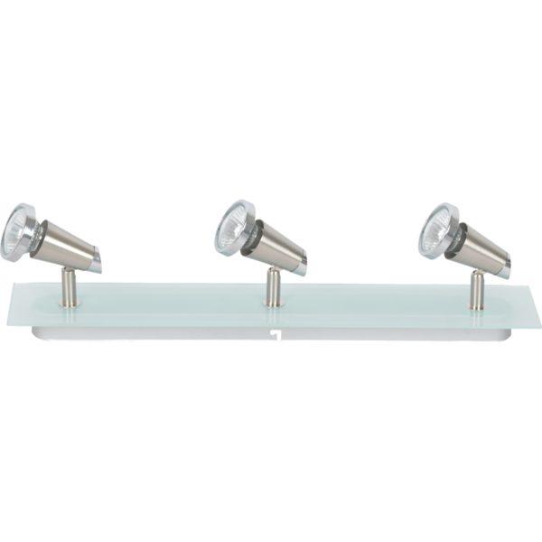 Ayaan 3 Light Square GU10 Frost Glass - AYAAN3LT