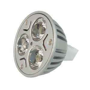 3w MR16 LED Globe - LED3WMR16 - PW - CW - WW
