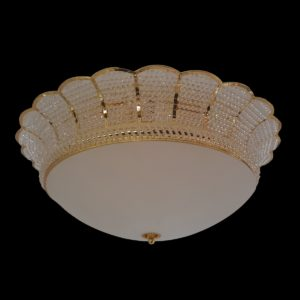 Tyne 650 Gold Ceiling Light - CTCTYN09650GD