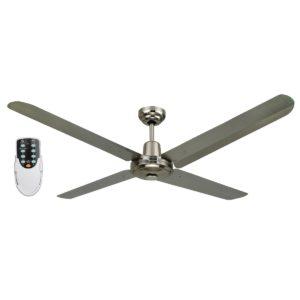 BLIZZARD52'' 1200mm 316SS Ceiling Fan + Remote - BLIZZARD52'' - Rem