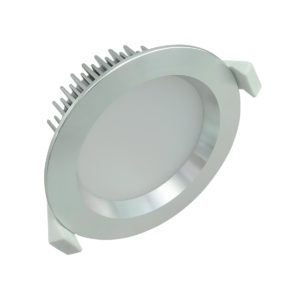 LED 13w Premium Cool White Anodized Aluminum - LED13WLPAACW