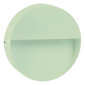Calam Round LED Integrated External Light White
