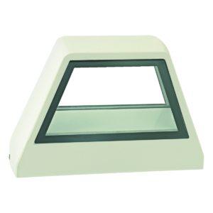 Kura Square LED Integrated External Light White