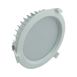 LED Round Shop Light 18w Dimm PW - LEDSHP18WCWDIMRND