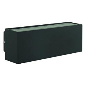 Strett Large LED Integrated External Light Black