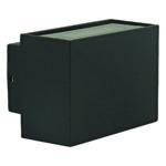 Strett Small LED Integrated External Light Black