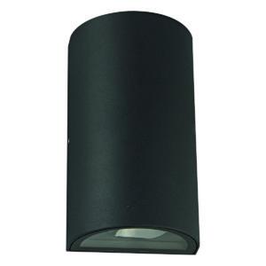 Zimbo Round LED Integrated External Light Black