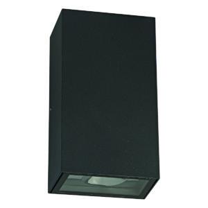 Zimbo Square LED Integrated External Light Black