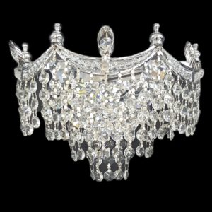 Bristol 270 Crome Wall Light - CRWBRI02270CH