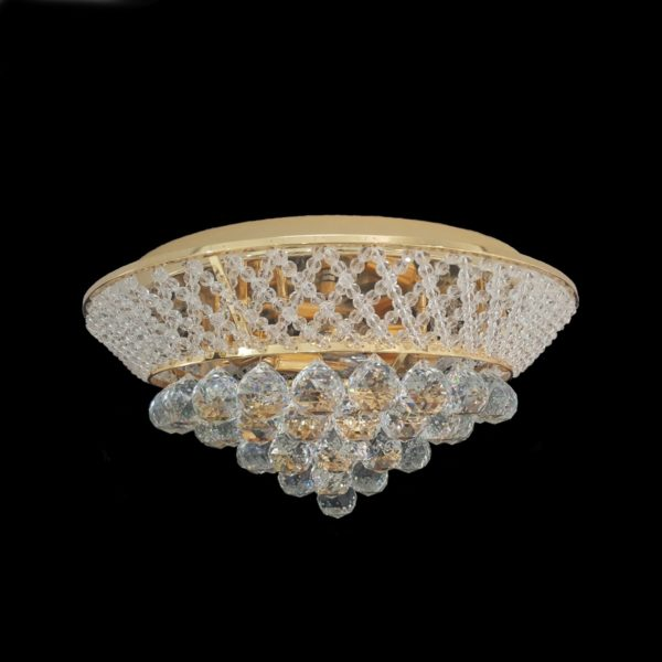Cumbria 480 Gold Ceiling Light - CTCCUMB04480GD