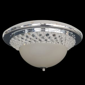 Dorset 380 Chrome Ceiling Light - CTCDOR03380CH
