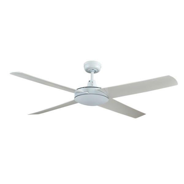 Genesis 52'' White Ceiling Fan with ABS Blades - GEN52W2