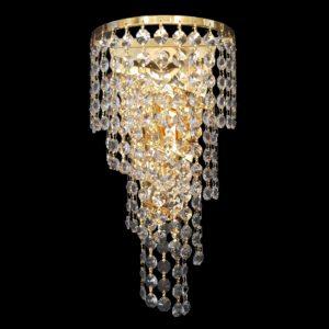 Spiral Large Gold Wall Light - CRWSPI02190GD