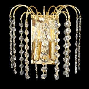 Waterfall Gold Wall Light - CRWWAT02220GD