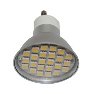 4w GU10 LED Dimmable Globe - LED4WGU10DIM - PW - CW - WW