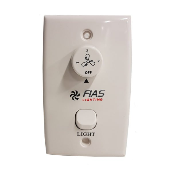 Fias Lighting Ceiling Fan 3 Speed Wall Controller With Capacitor Light Switch Lighting Empire