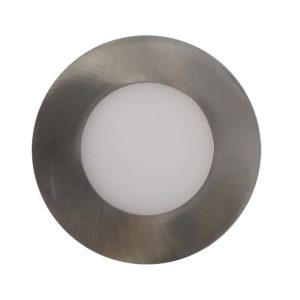LED Round Step Light 316 Stainless Steel Cool White - LEDSTP316RNDCW