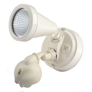 LED Single Beige Exterior Spot Sensor Light - LEDSPTSWSBGE