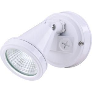 LED Single White Exterior Spot Light - LEDSPTSINWH