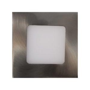 LED Square Step Light 316 Stainless Steel Warm White - LEDSTP316SQRWW