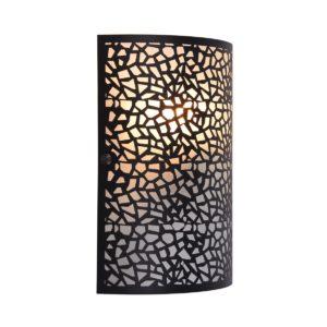 Zay Black Wall Light