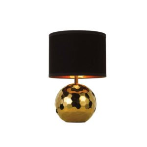 Wise Table Lamp gold black