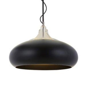 Beck 600mm 1 Light Pendant in Black