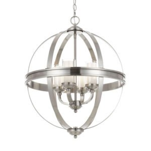 Bodum 4 Light Pendant in Matt Nickel