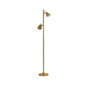 Antique Brass Carson Floor Lamp