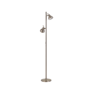 Nickel Carson Floor Lamp