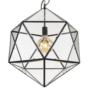 Lazlo 500mm 1 Light Pendant in Black