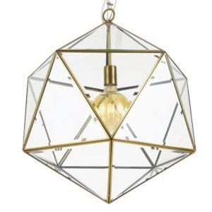 Lazlo 500mm 1 Light Pendant in Antique Brass