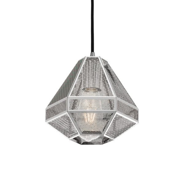 Magnus 200mm 1 Light Pendant in Chrome