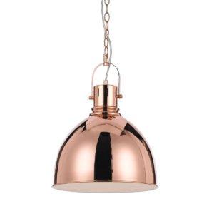 Market 310mm 1 Light Pendant in Copper