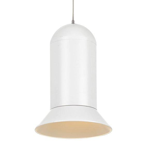 Parker 20 watt Dimmable LED Pendant Light in White