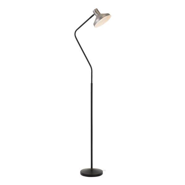 Trevi Floor Lamp Nickel