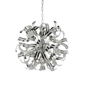 Merino 5 Light Pendant in Chrome