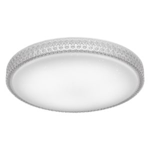 Amelia 600mm 50 Watt CCT LED Dimmable Oyster Light with Remote