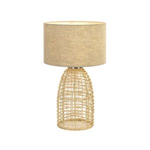 Bayz 320mm Table Lamp in Sand